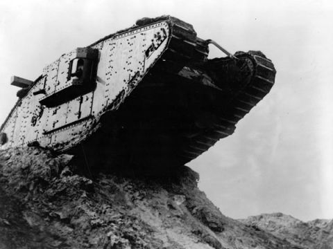 Tank = Secret Military Code to Throw Off the Enemy