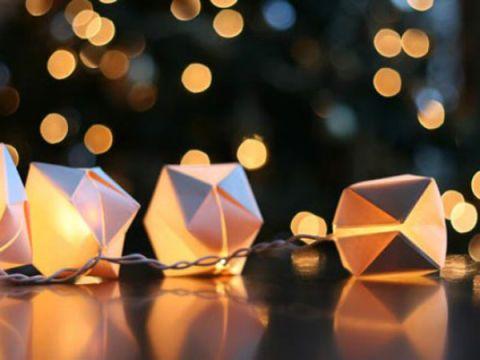 Origami String Lights