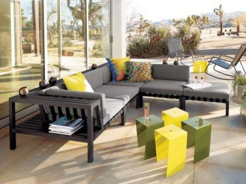 CB2 Havana II Sectional Seating
