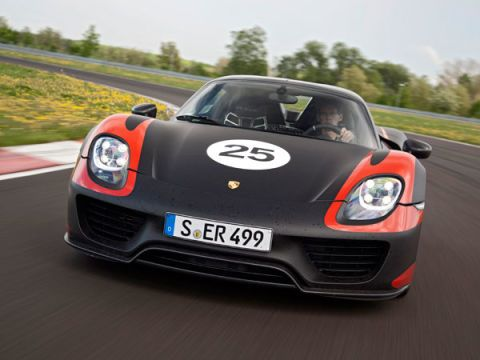 Porsche 918 Spyder: The Shape of Supercars to Come