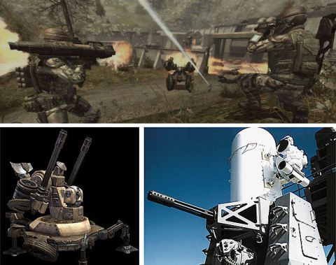 GDF Artillery Interceptor Turret in Enemy Territory: Quake Wars