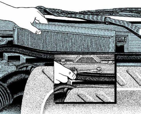 Replacing Your Cabin Air Filter