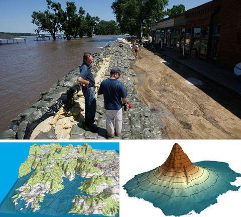 St Louis flood research
