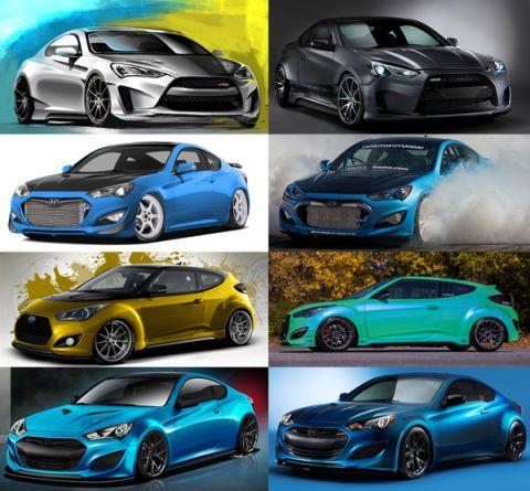 Hyundai's Sketchy SEMA Teases