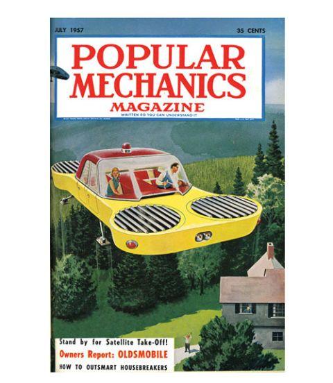 Image result for popular mechanics|science  flying cars