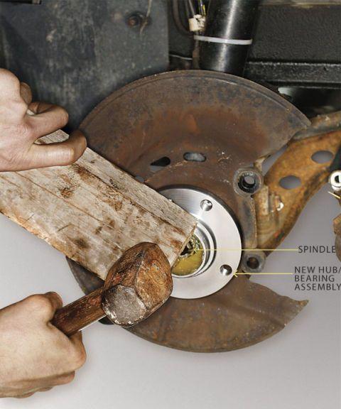 Replacing a Sealed Wheel Bearing