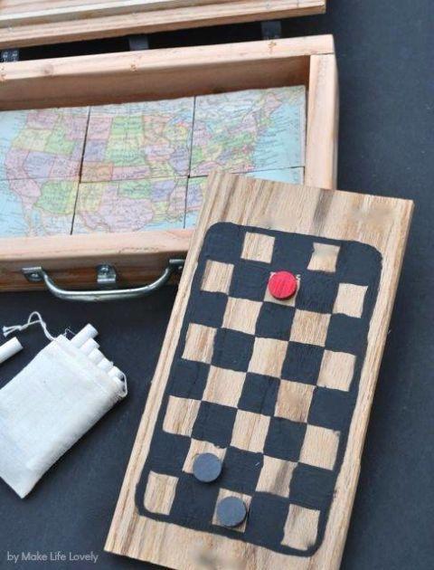2. Vintage Travel Games
