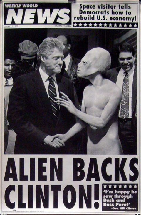 Bill Clinton Finally Admits the Truth About Aliens