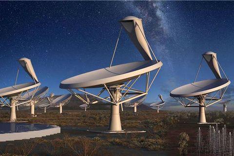 Telecommunications engineering, Antenna, Technology, Space, Radio telescope, Radar, Cellular network, Star, Science,