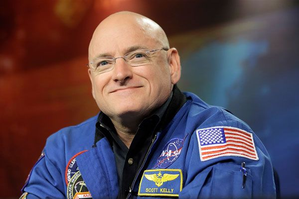 Scott Kelly Is Now Two Inches Taller Than When He Left Earth