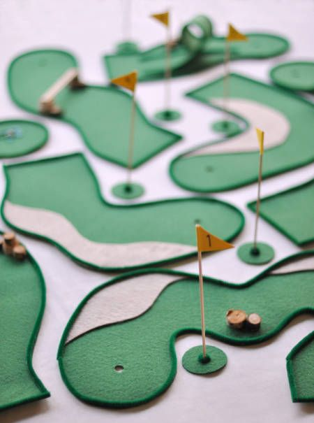 1. Mini Golf