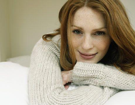 woman wearing a sweater