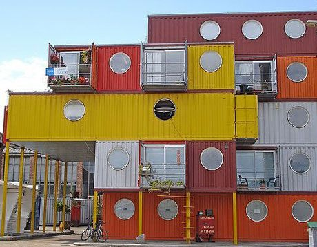 container city II, shipping container studios and housing in london
