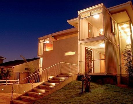 Multi Container House, Redondo Beach California