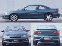 2000 chevy cavalier coupe reviews
