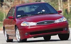1998 ford contour manual transmission problems