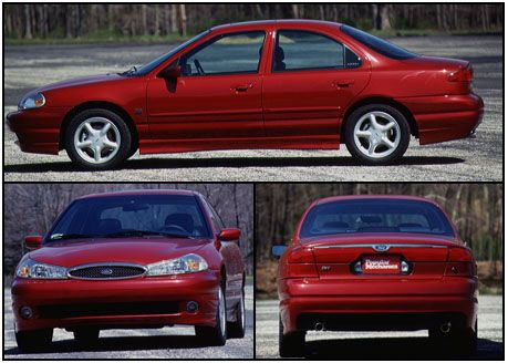 1996 ford contour owners manual