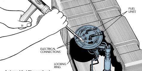 replacing  fuel pump