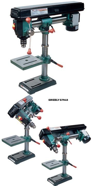 PM Comparison Test: 5 Drill Presses