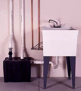 Beau If Youu0027ve Ever Wanted A Laundry Sink But Couldnu0027t Come Up With A Way To  Drain It, Youu0027re Not Alone. Most Older Homes Have Inadequate Plumbing, ...