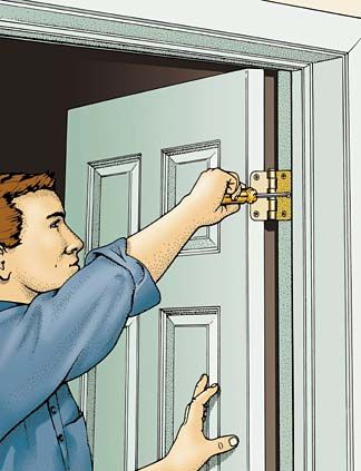 fixing problem doorsthose of us who live in older homes are familiar with doors that don\u0027t open or shut properly like most things mechanical, doors can develop problems
