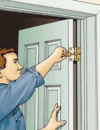 Those Of Us Who Live In Older Homes Are Familiar With Doors That Don T Open Or Shut Properly Like Most Things Mechanical Can Develop Problems