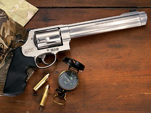 Smith and Wesson Most Powerful Handgun - 500 Cal Magnum Pistol from Smith  and Wesson