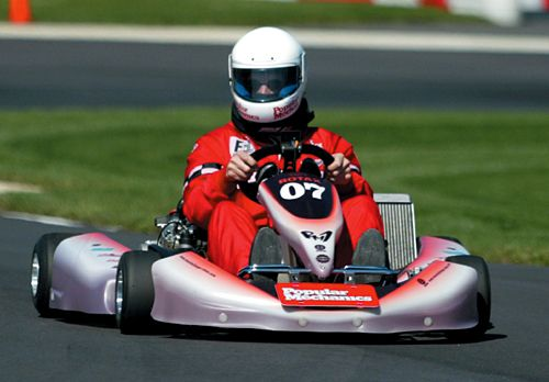 Rotax RM1/F1 Outdoors 100-Mph Go-Karting