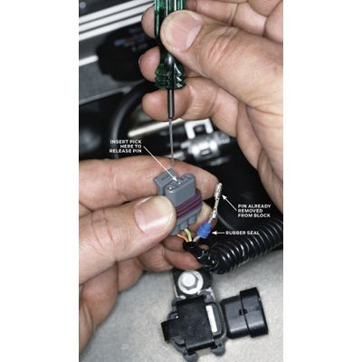 repairing electrical wiring Cable Retainer Clip