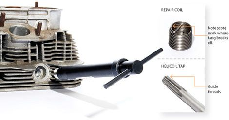 How to Repair Stripped Spark Plug Threads: Auto Clinic
