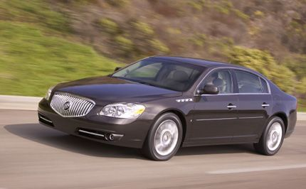 2008 Buick LaCrosse Super and Lucerne Super: New York Auto
