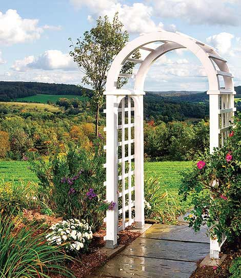 how to build a garden arbor simple diy woodworking project
