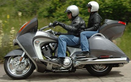 2008 Victory Vision: Refreshingly Original Take on Luxury Touring Bike
