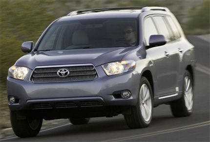 Your First Impression Of The 2008 Highlander Models May Be That It S Simply Ger But Toyota Is Making No Excuses For All New Version Mid Size