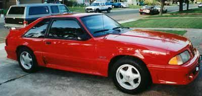 Fox Body Mustang >> 1991 Ford Mustang Fiery Fox Body