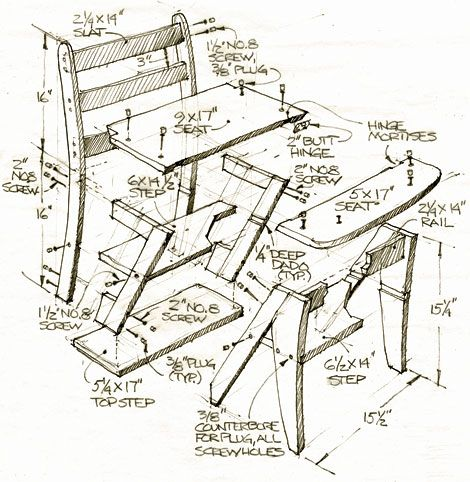 Marvelous How To Build A Step Stool Simple Diy Woodworking Project Pdpeps Interior Chair Design Pdpepsorg