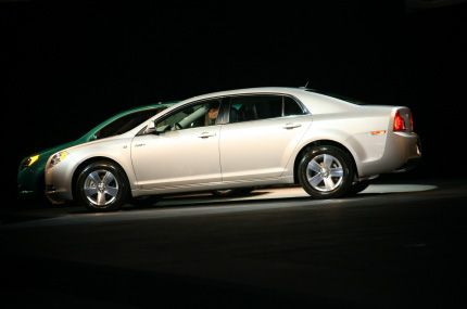 2009 Chevrolet Malibu Hybrid Live From The 2007 L A Auto Show With Video
