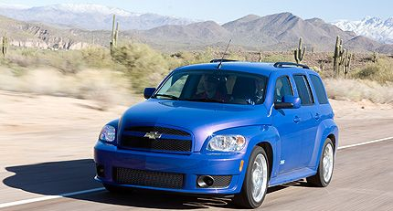2008 Chevrolet HHR SS Test Drive: Not Just a Badge-and-Sticker Job