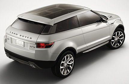 Land Rover Lrx Concept Detroit Auto Show Preview