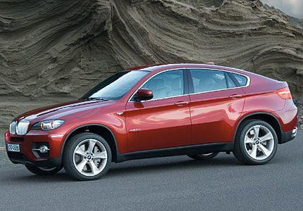 Following X5 2009 Bmw X6 Is World S First Sport Activity Coupe