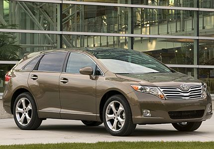 2009 Venza Is Part Suv Part Camry All Toyota Detroit Auto Show