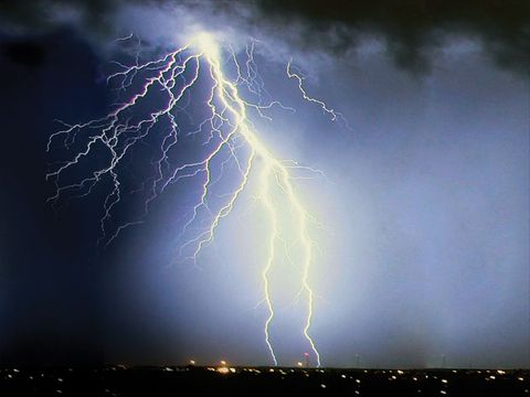 Lightning killed an average of 67 people annually in the U.S. over the past 30 years