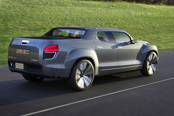 Gmc S Denali Xt Concept Offers Hot Hybrid Crossover Pickup Chicago Auto Show Preview
