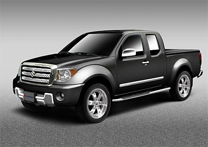 Nissan Helps Suzuki Hit Truck Market With 2009 Equator Live At The 2008 Chicago Auto Show
