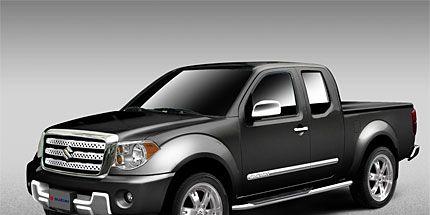 Nissan Helps Suzuki Hit Truck Market With 2009 Suzuki Equator Live At The 2008 Chicago Auto Show