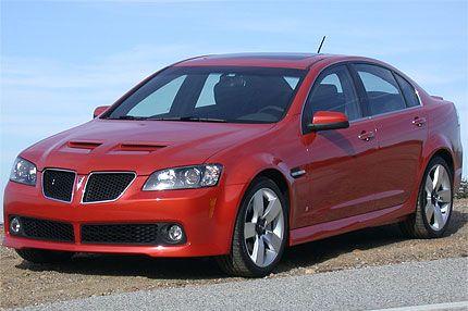 2008 Pontiac G8 Gt Test Drive Poncho Gets Its V8 Muscle Car Mojo Back