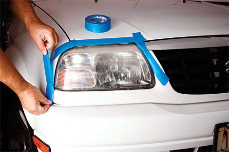 How To Clean Headlights Car Headlights Care