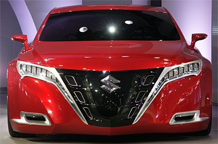 Suzuki Moves Up To Big Boy Territory With Kizashi 3 Concept 2008