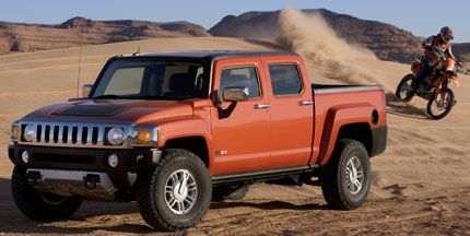 2008 Hummer H3T Test Drive: No-Slip Electric Lockers Get 'Er Done in