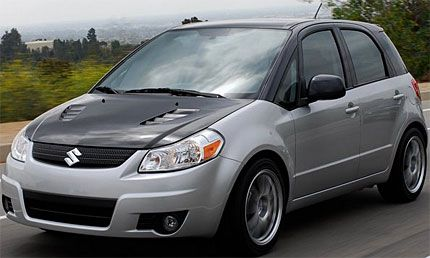 2008 Suzuki SX4t Crossover Concept Test Drive: The Supped-Up